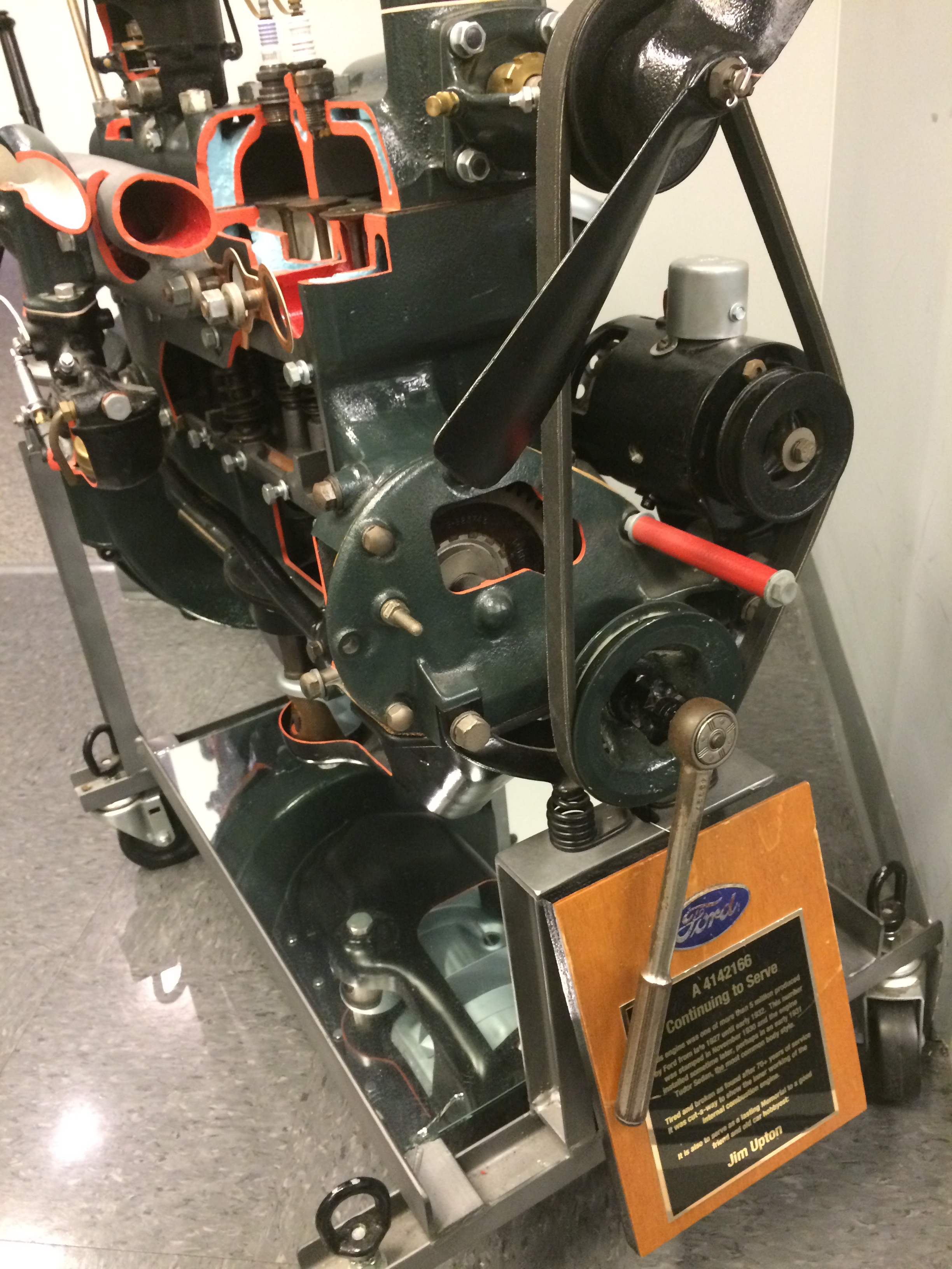 Model A Engine - No.100